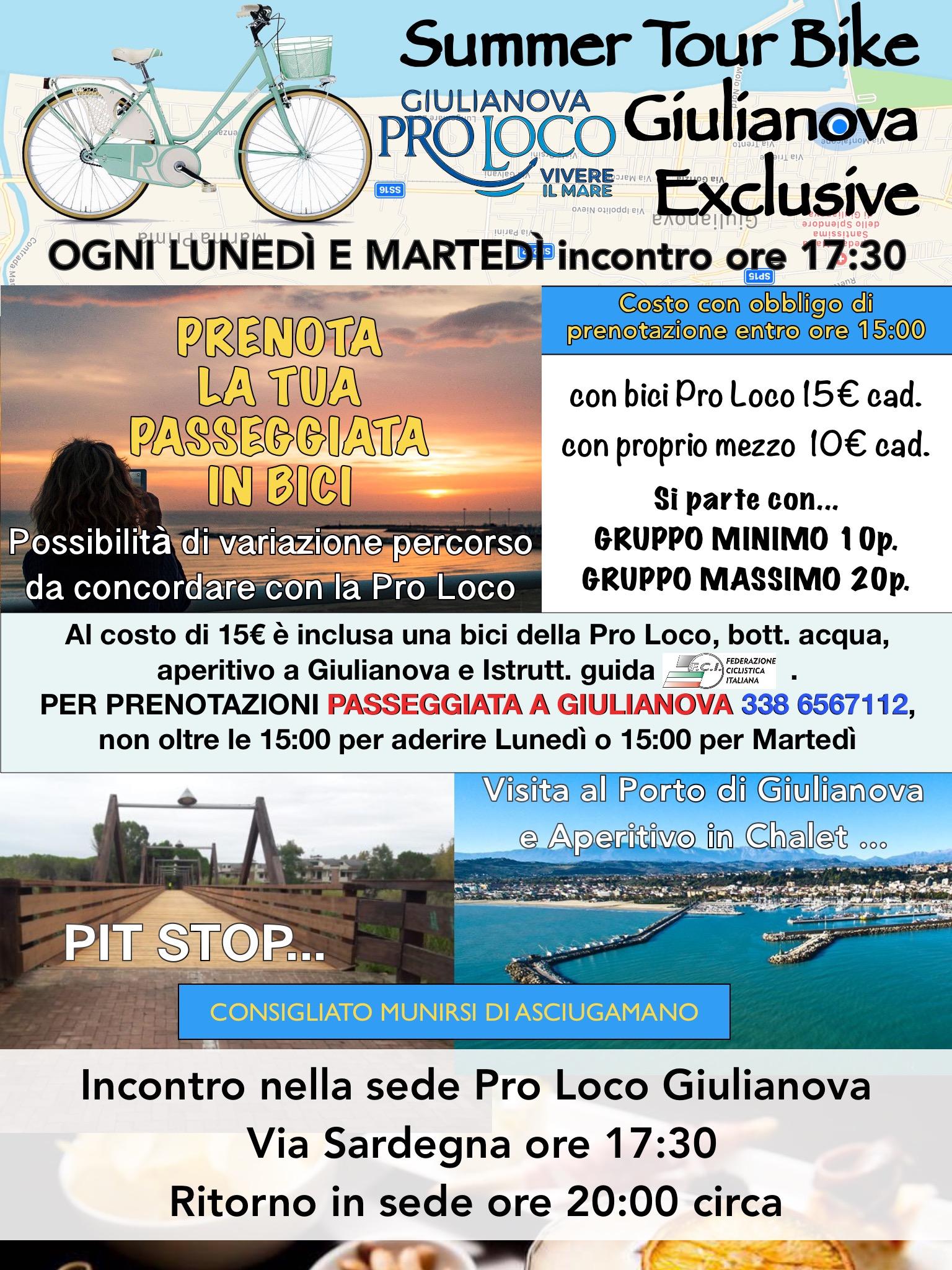 Giulianova – Tante opportunità offerte dalla Pro Loco
